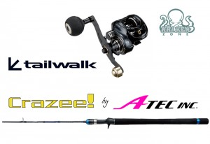 CRAZEE LIGHT JIGGING SHAFT C632ML + TAILWALK ELAN SW 73L LIGHT JIGGING (LEFT HANDLE)